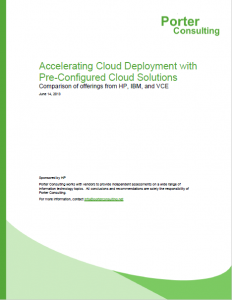 White Paper on Accelerating Cloud Deployment with Pre-Configured Cloud Solutions